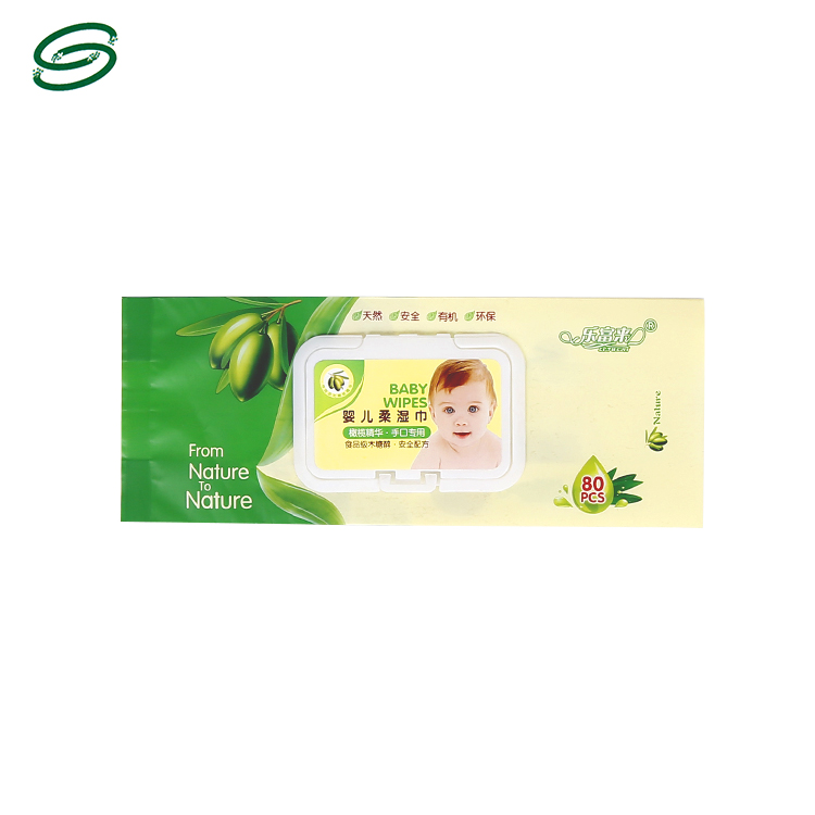 Wholesale Side Gusset Easy Wipe Off Wet Wipes Packing Bag Single Individual Wet Wipes