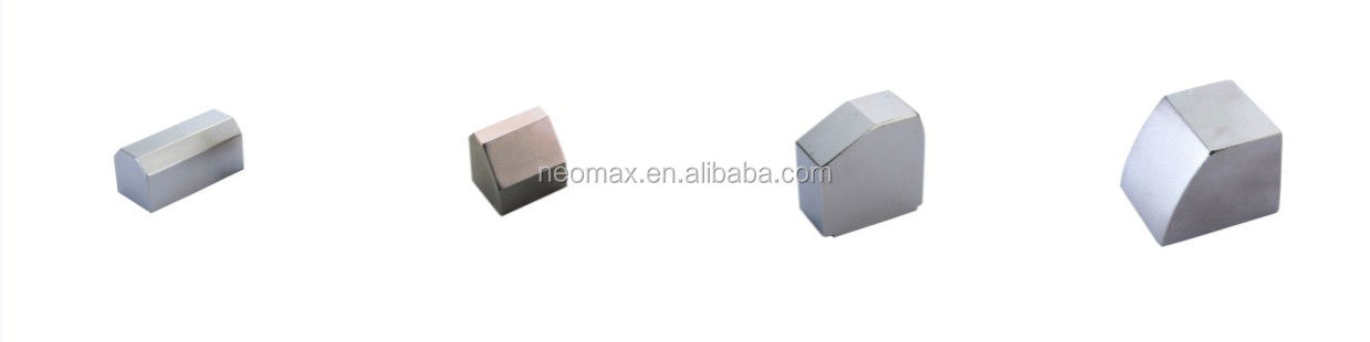 Customized Strong Permanent Neodymium Magnet for DC Motor