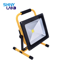 Portable Emergency ip65 waterproof outdoor 10W 20W 30W 50W Rechargeable LED Flood Work Light