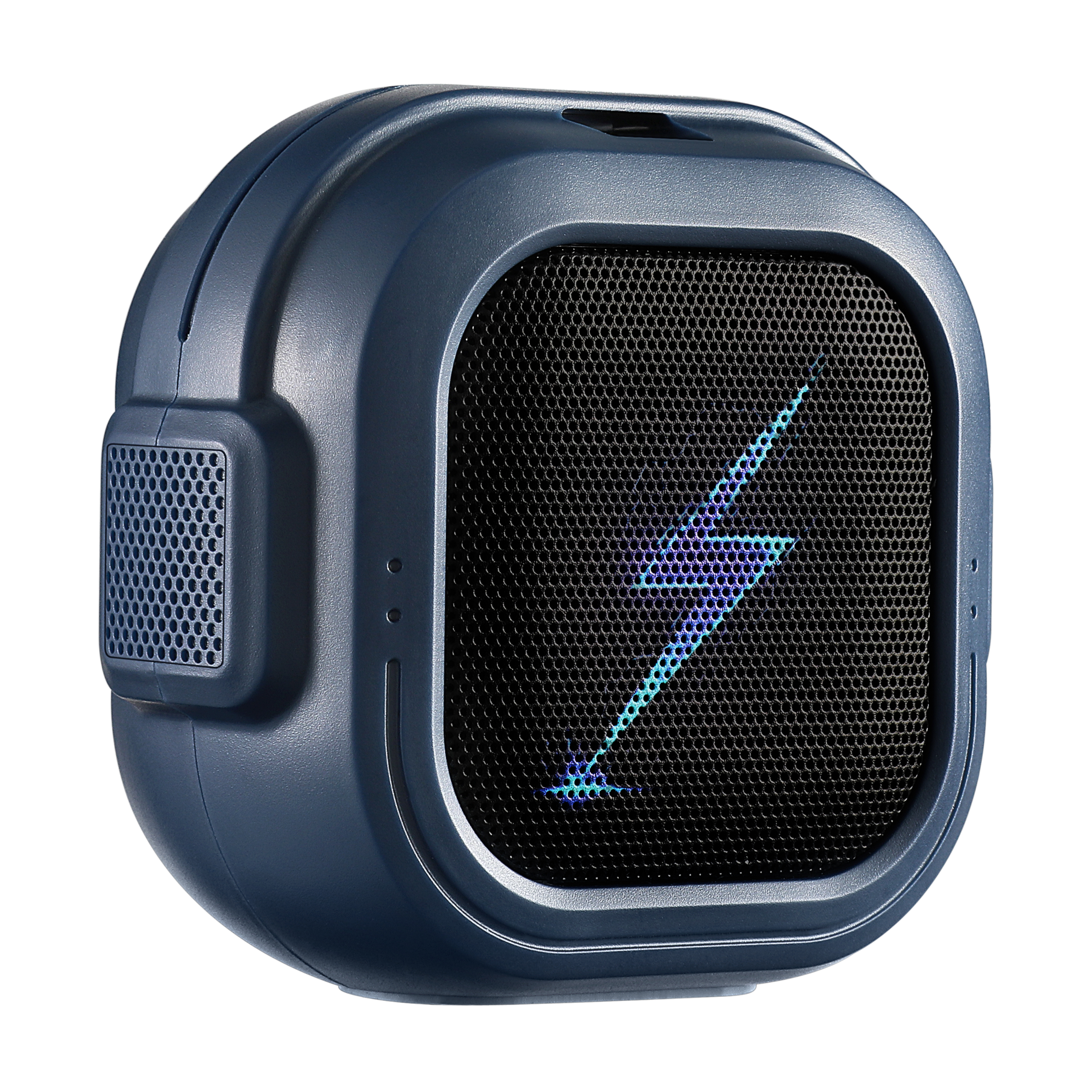 Bluetooth Mini Wireless Speaker with HiFi Bass Small But Loud, The Next Generation of Portable Speakers for Home, Outdoors (Navy Blue)