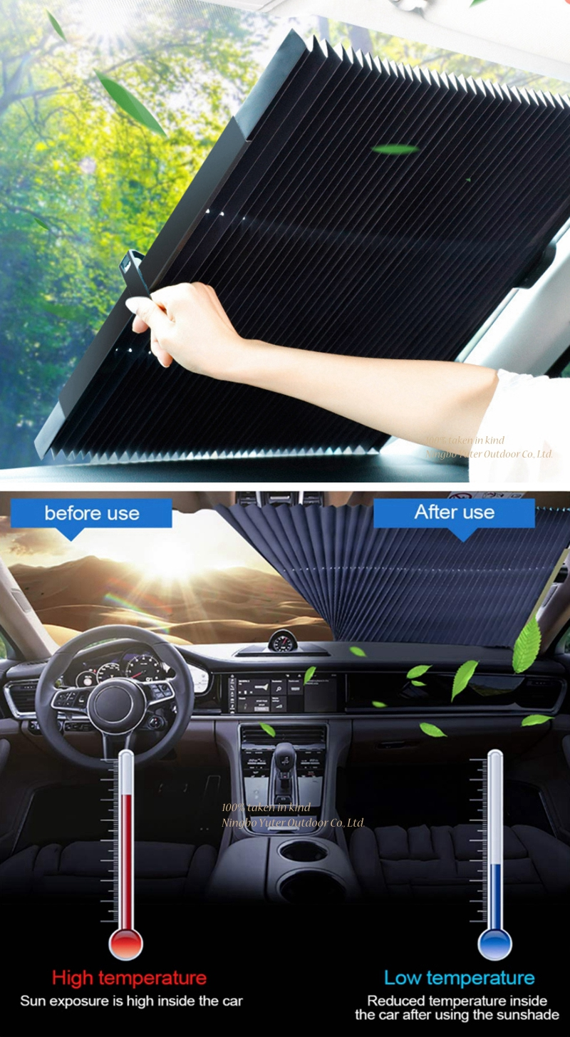 Summer Car Windshield Cover Front Window Curtain Anti UV Car Sunshade Cover