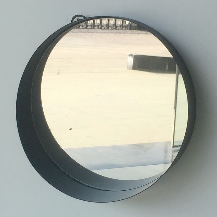 Made in China fancy design metal framed decorative wall mirror