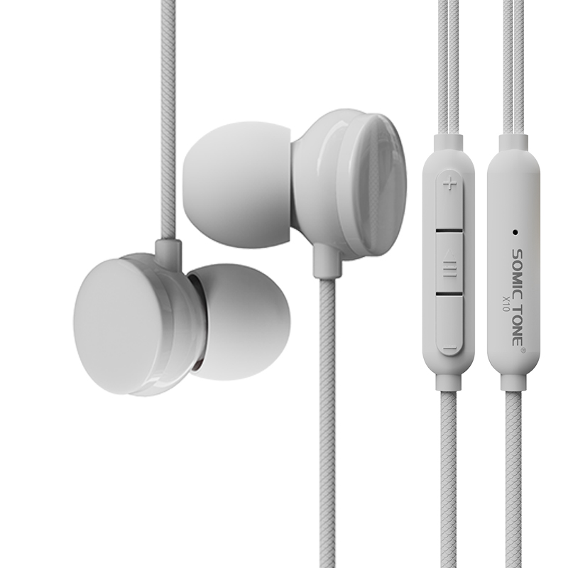 New 3.5mm In-Ear Wired Earphone Mobile Phones Universal Sport Earphones with Mic Volume Control for Xiaomi iPhone PC S4
