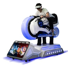 Virtual Reality <span class=keywords><strong>Auto</strong></span> Rit <span class=keywords><strong>Simulator</strong></span> Pretpark Arcade Game Producten 9D Vr Motorfiets 3 Dof Racing Motion Machine