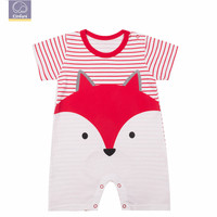 Elinfant animal series baby boy clothes 100% cotton 0-24 month baby romper suit ropa de bebes