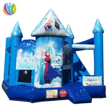 Best selling inflatable frozen jumping castle slide, inflatable castle slides combo, inflatable super bouncer slide for sale
