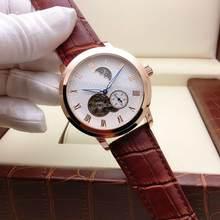 Спортивные автоматические часы для мужчин, роскошные часы с Лунной фазой, скелет, турбийон, водонепроницаемые механические часы для женщин ...(Китай)