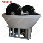low price and good quality 1200 chilean mill and wet pan mill for gold grinding