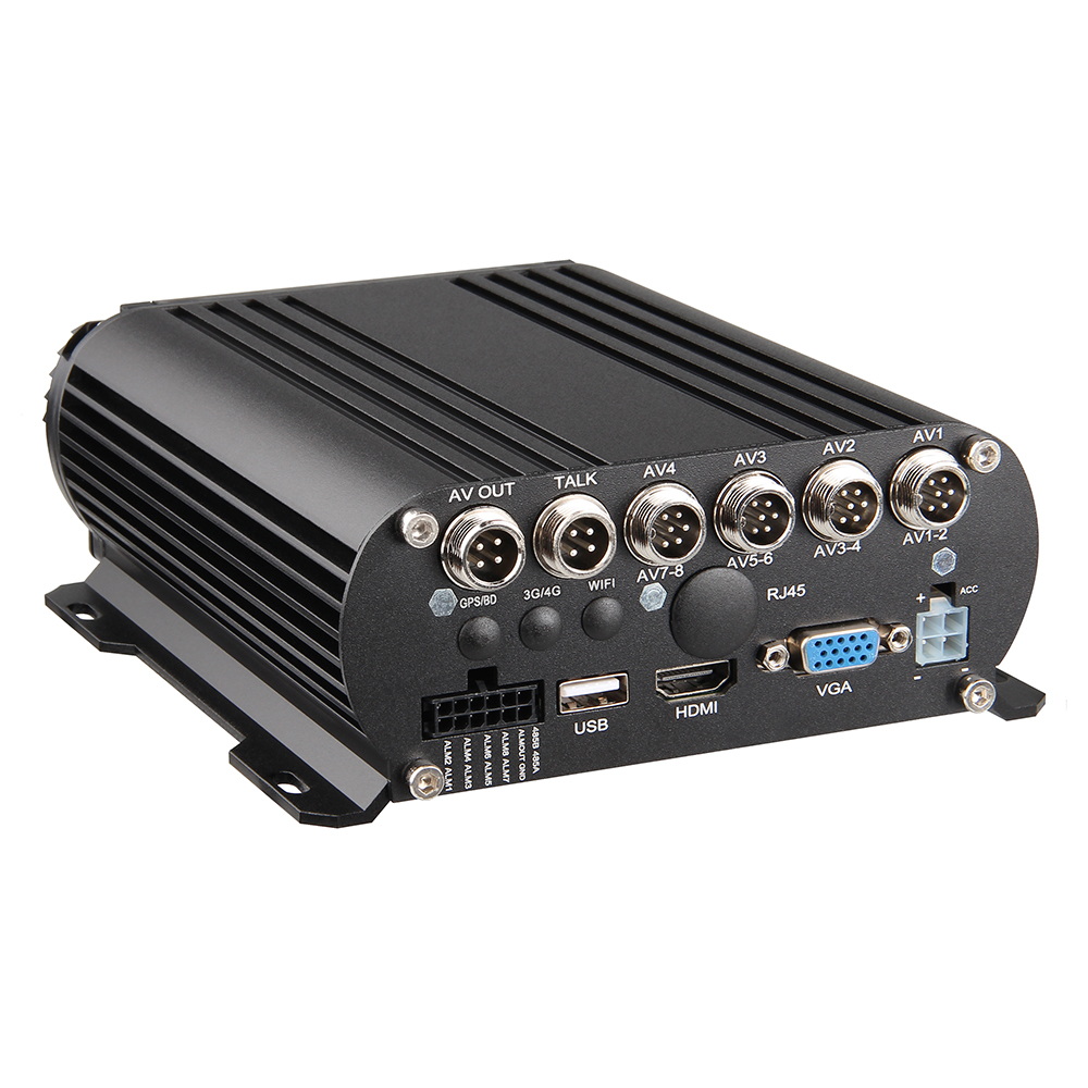 8CH AHD HDD Mobile <strong>DVR</strong> 1080N Car <strong>DVR</strong> Recorder for Truck Bus Security MDVR