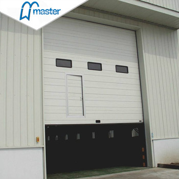 Factory direct supply exterior mirror glass garage door design in stock