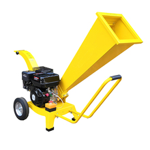 Profesional de China 6.5hp gasolina Branch Mini madera trituradora de rama de árbol con shredder con CE