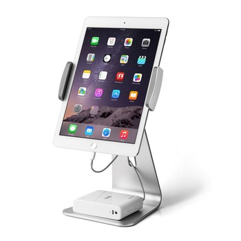 For iPad and phone Stand Adjustable Aluminum Alloy Holder Stand Dock Aluminum stand for iPad Pro 9.7