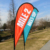 Outdoor Event promotion sport beach flag banner