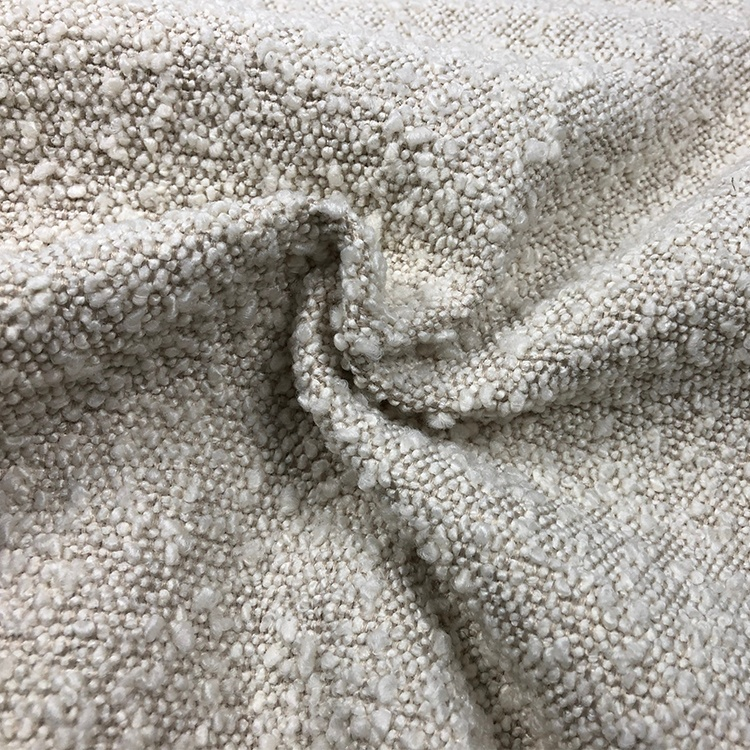 Recycle yarns sherpa fleece in stock living room polyester upholstery wholesale chenille fabric sofa