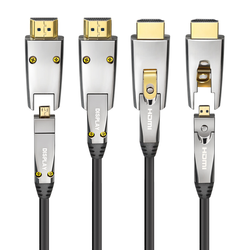 10M 20m 30m 40m 50m 100m 150m 200m AOC <strong>HDMI</strong> cable for in-wall installation 4K