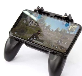 Hot Sell gaming joystick game pad W10 PUBG mobile gaming controller