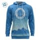 Pure Hoodie Manufacturers Wholesale Printed 100%Polyester Sublimation Custom Training Sports Fitted Hoodie Sweater Hoodie