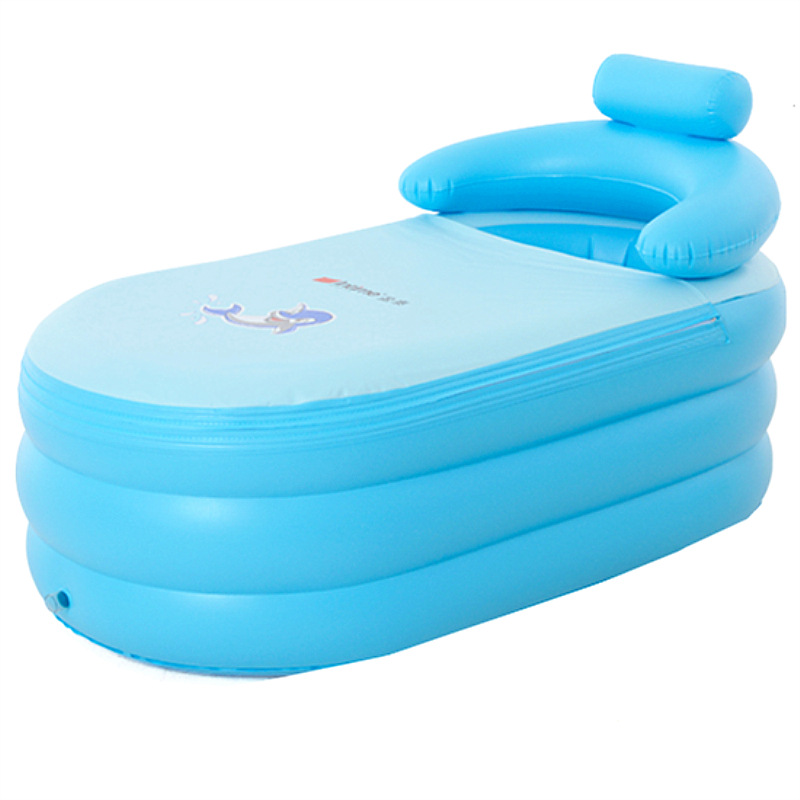 Portable 1-person  inflatable hot tub 142cm high quality hot tub inflatable Relax and enjoy the hot tub spa inflatable