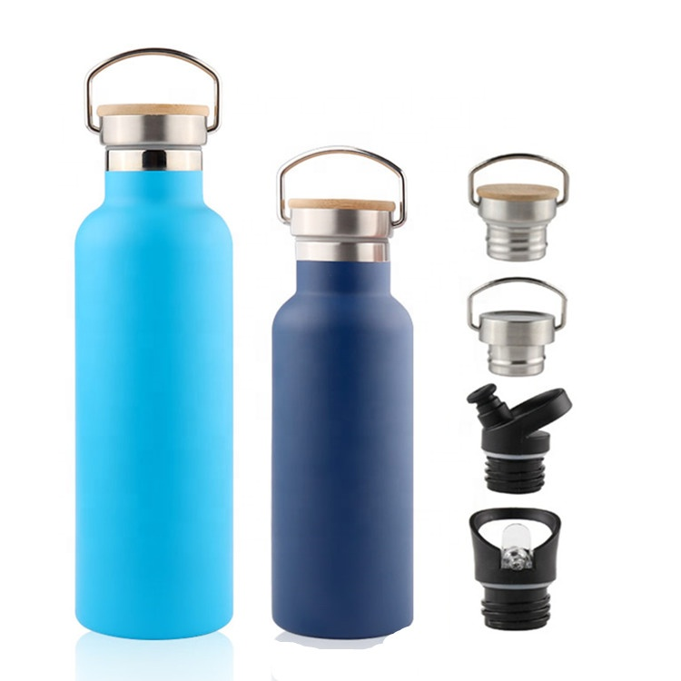 18/8 Stainless Steel Water Bottle,Double Walled Vacuum Insulated Thermo Flask <strong>Sport</strong> Water Bottle 500ml BPA Free