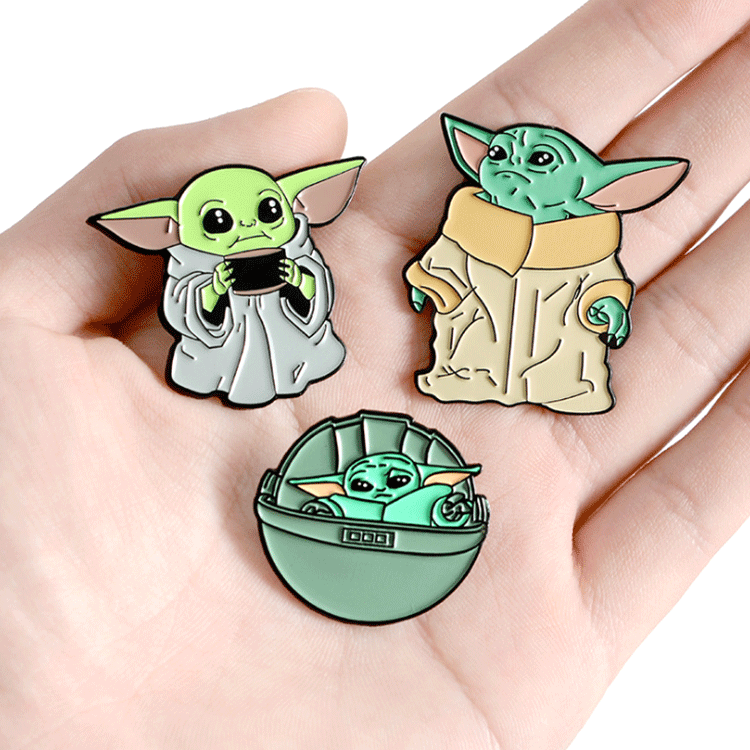 Novelty products direct sell metal soft enamel cheap discount lapel pins custom