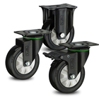 New design fixed castor wheel castors and wheels swivel 125mm with high quality