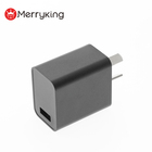 Argentina portable USB power adapter 5V 2.5A USB charger for mobile phone