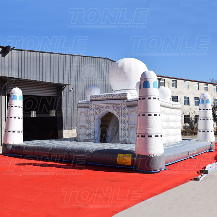 white church inflatable playground for sale
