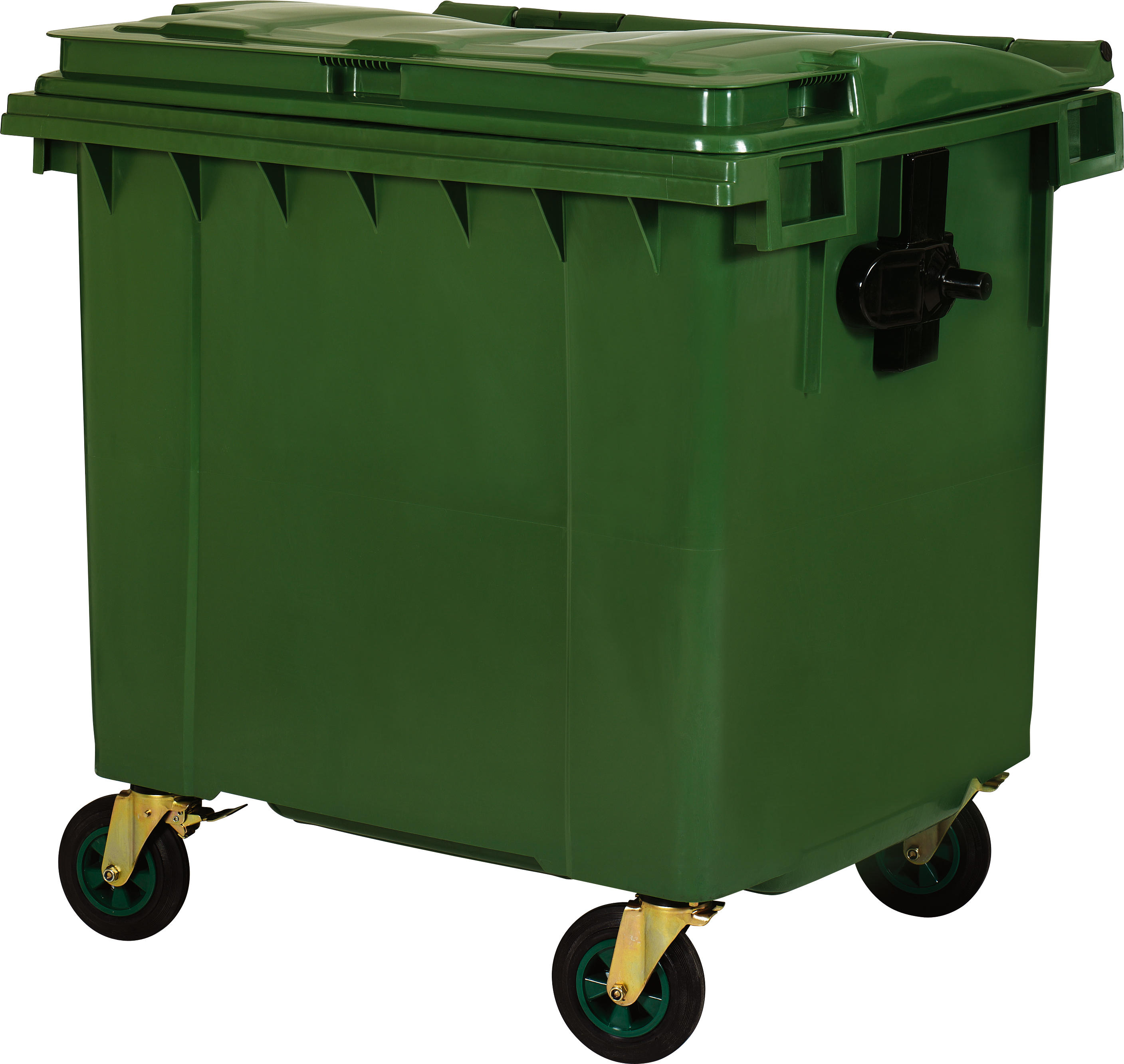 1100L Plastic Trashbin Hot Sale Recycling Outdoor Waste Garbage Bin Cans