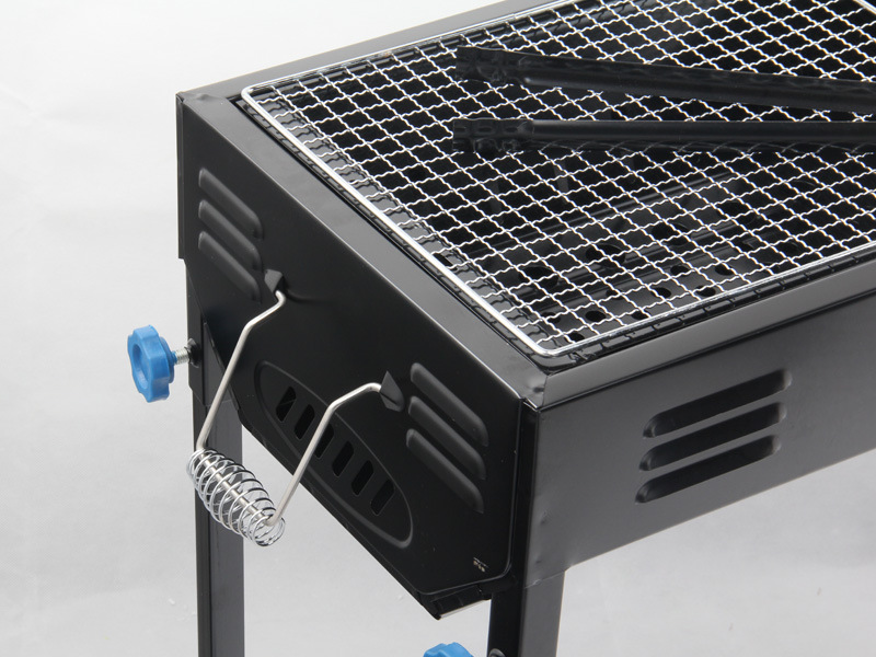 Yiwu Custom Carbon Oven Outdoor Folding Portable Charcoal Garden Utensils Cheap BBQ Grill