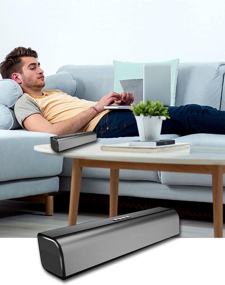 Sistem Home Theater 5.1 Nirkabel Soundbar dengan Speaker Unit Beberapa Interface