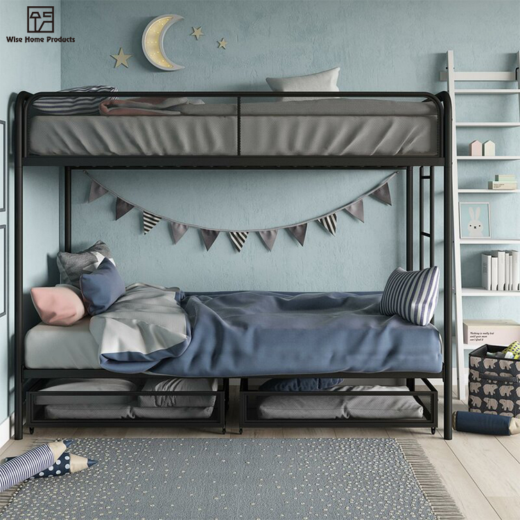 Hot Sale Upholstered Double Decker Children Bedstead Metal Platform Bunk Bed Buy Children Bunk Bed Double Decker Metal Bed Bedstead Bunk Bed Product On Alibaba Com