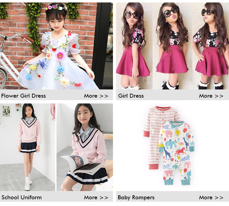 New Kids Clothes Flower Printed Girls Skirt Set For Hot Girl From China Supplier