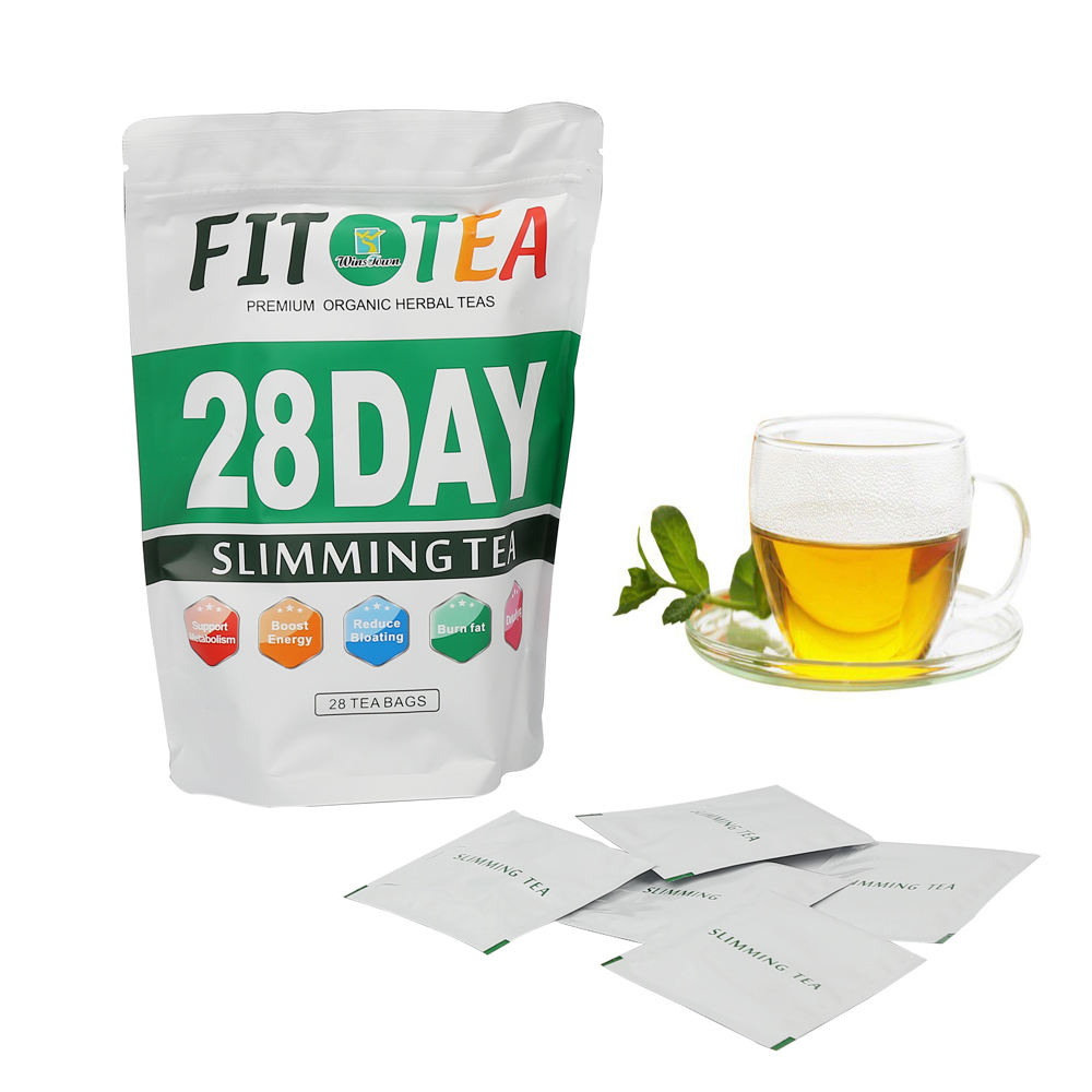 Best Quality 28 Days Slim Tea Without Any Aide Effects Private Label Flat And Slim Tummy Slimming Tea 10 Bags - 4uTea | 4uTea.com