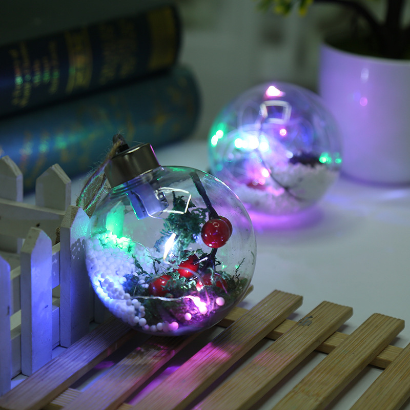 Competitive price High-ranking  hanging plastic ball light led