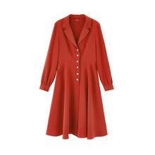 Женское Платье До Колена inman, весеннее винтажное платье до колена в стиле ретро, с бусинами и кнопками, со средней талией(Китай)