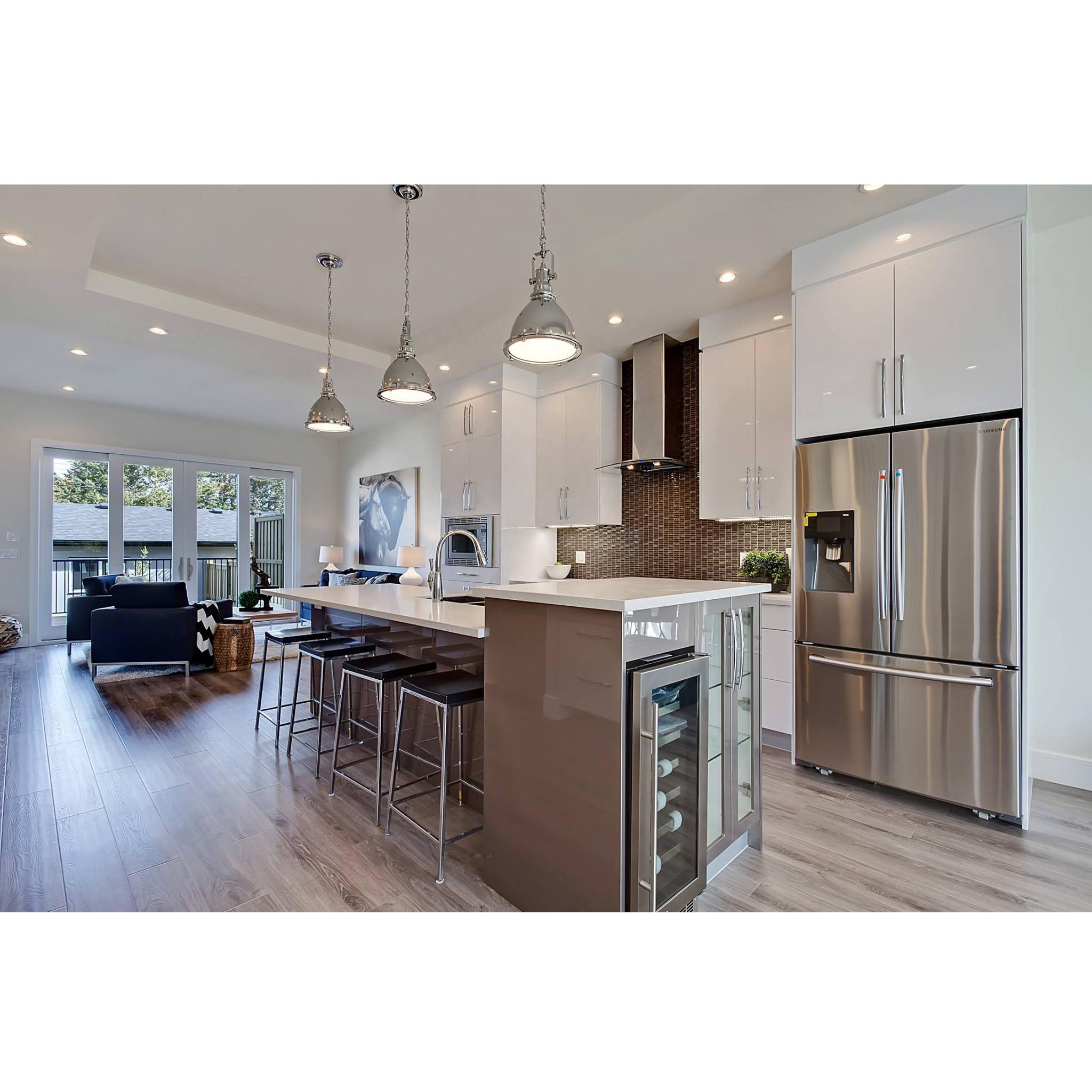 Venta al por mayor cocinas de diseño blancas-Compre online ...