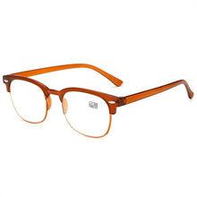 UVLAIK женские классические очки для чтения мужские винтажные TR90 сверхлегкие очки для дальнозоркости(Китай)