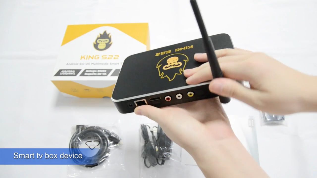 Kotak TV Android Zoomtak Amlogic S922x, TV Box Android 9.1 Amlogic