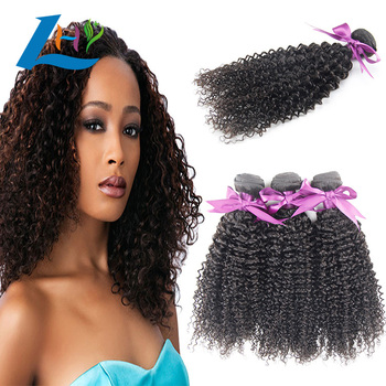 Wholesale cuticle aligned hair, kinky curly virgin Brazilian hair weave, 100% virgin mink Brazilian grade 10a human hair bundles