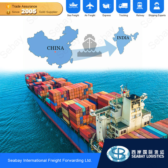 China Sea Freight Forwarder International Best Cargo Container Shipping Rates To India