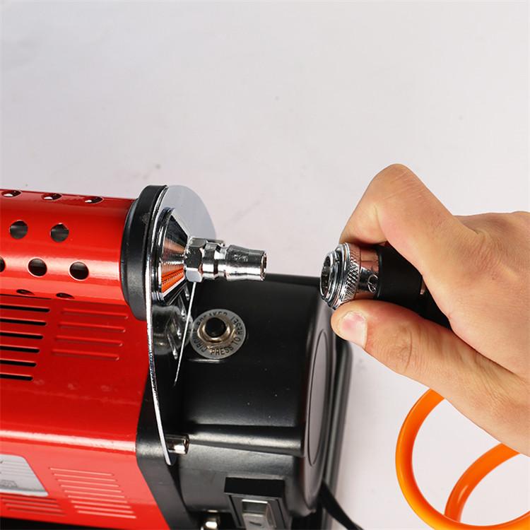 Professional car auto portable mini industrial air compressor electric tire inflator pump for sale