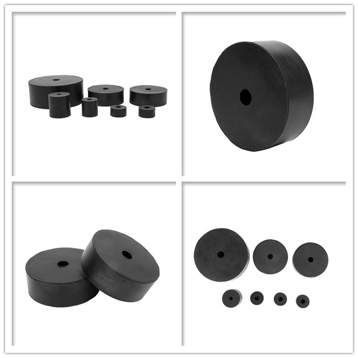 High quality Rubber block anti-slip silencer pad industrial machinery