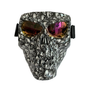 Tactical Skeleton Mask Glasses Outdoor Motocross Riding Glasses Goggles Skiing Windproof Sunglasses Outdoor