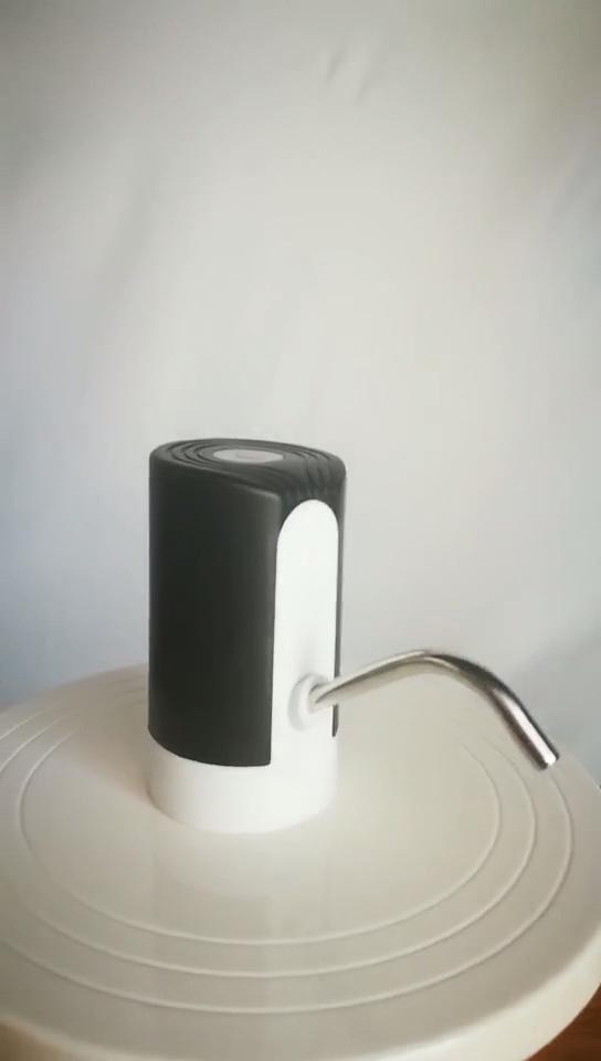 Bình Nước Điện Cầm Tay Sạc USB, Bình Nước Uống Tự Động Bơm Tay