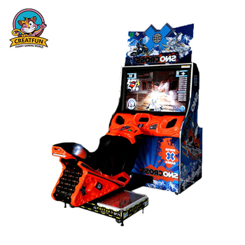 Wholesale Electrical Driving Car Game Machine 3D Racing Car Snow Motor Coin Arcade Machine Games