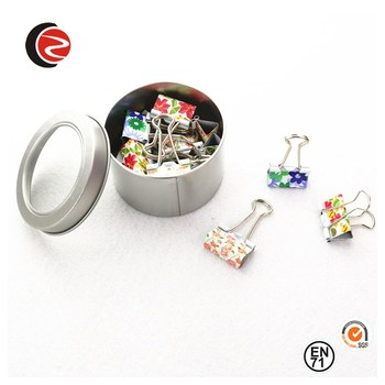 office 19MM  Printing Binder Clips in tin
