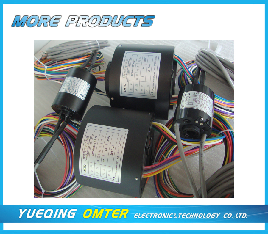 SRH1254F-18-2xCAT5e  56 circuits\/wires slip rings