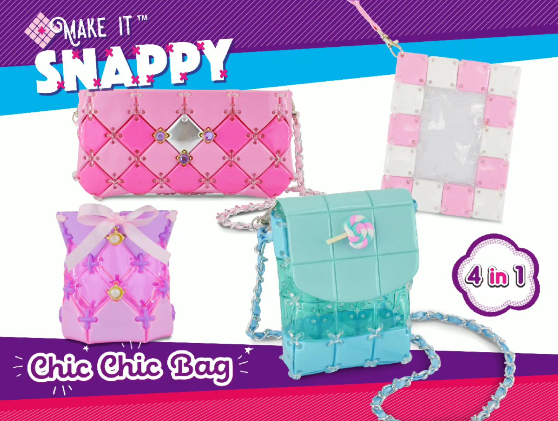 Fashion children diy handbags eva educational craft toys diy items for kids toys
