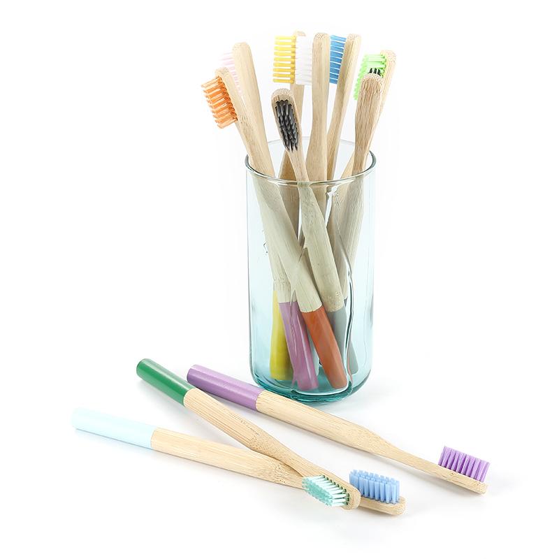 Цена по прейскуранту завода бамбуковая зубная щетка 4 набора экологически чистые путешествия/отель зубная щетка