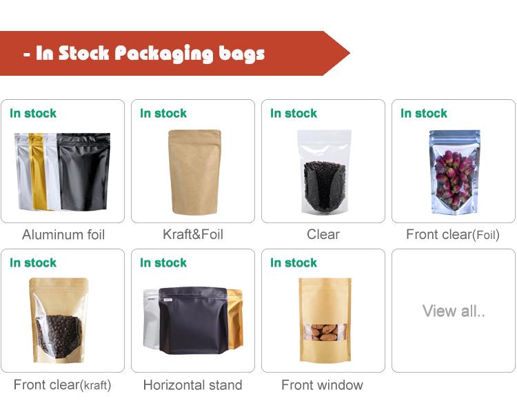 Bottom preis verschließbaren geruch proof thick kunststoff zipper stehen verpackung